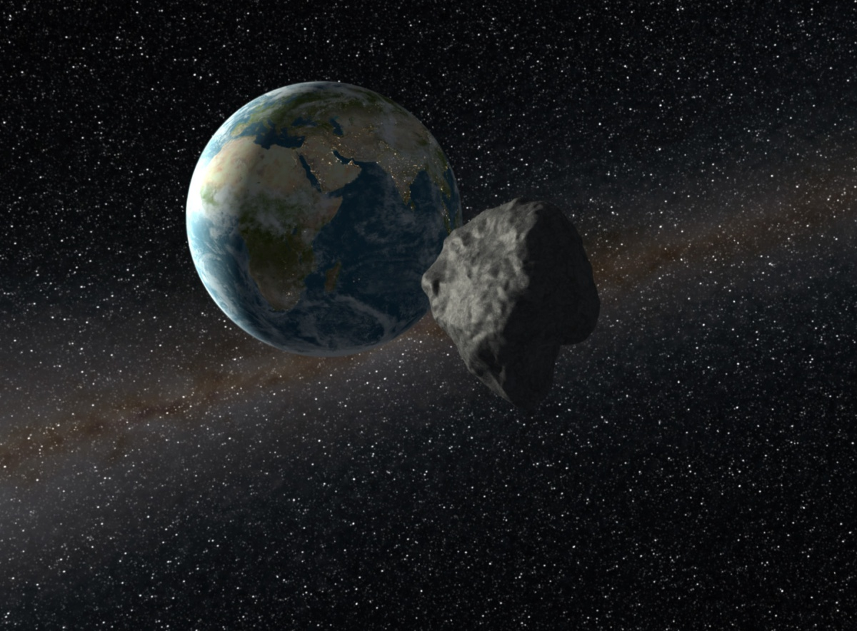 The world will know about dangerous asteroid 5 days before his fall.Новая система наблюдения за астероидами