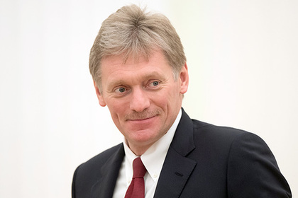 Press-Secretary Dmitry Peskov