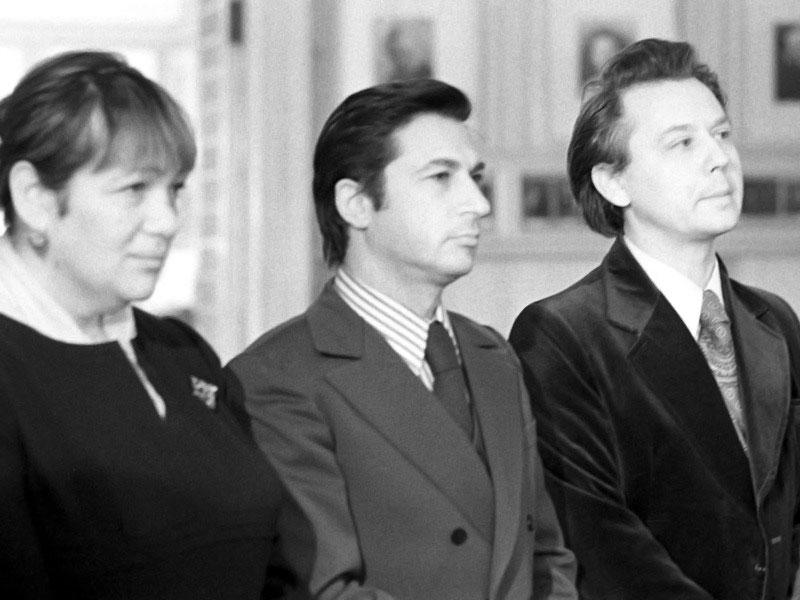 Galina Volchek, Igor Kvasha and Oleg Tabakov. 60 years