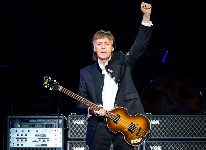 <h1>Egypt Station by Paul McCartney</h1><h2>Ex Beatle took the lead in the chart with his new album</h2>