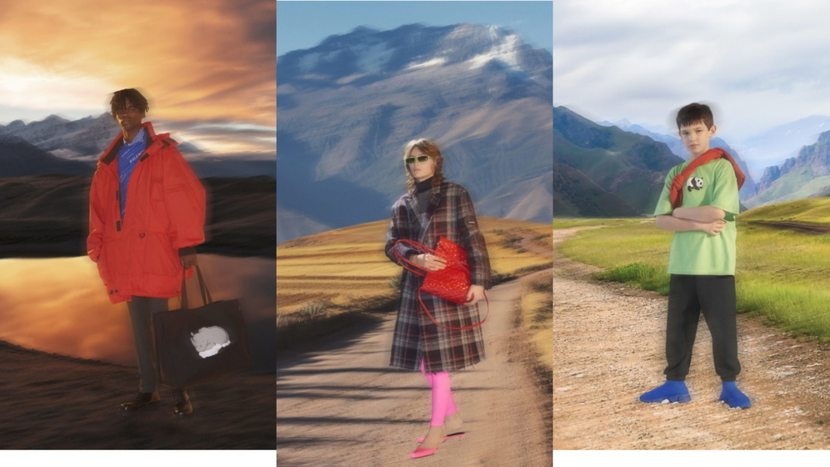 Balenciaga and Farfetch collaborated to save animalsThe brands will donate a part of their profit from a new collection to The International Union for Conservation of Nature