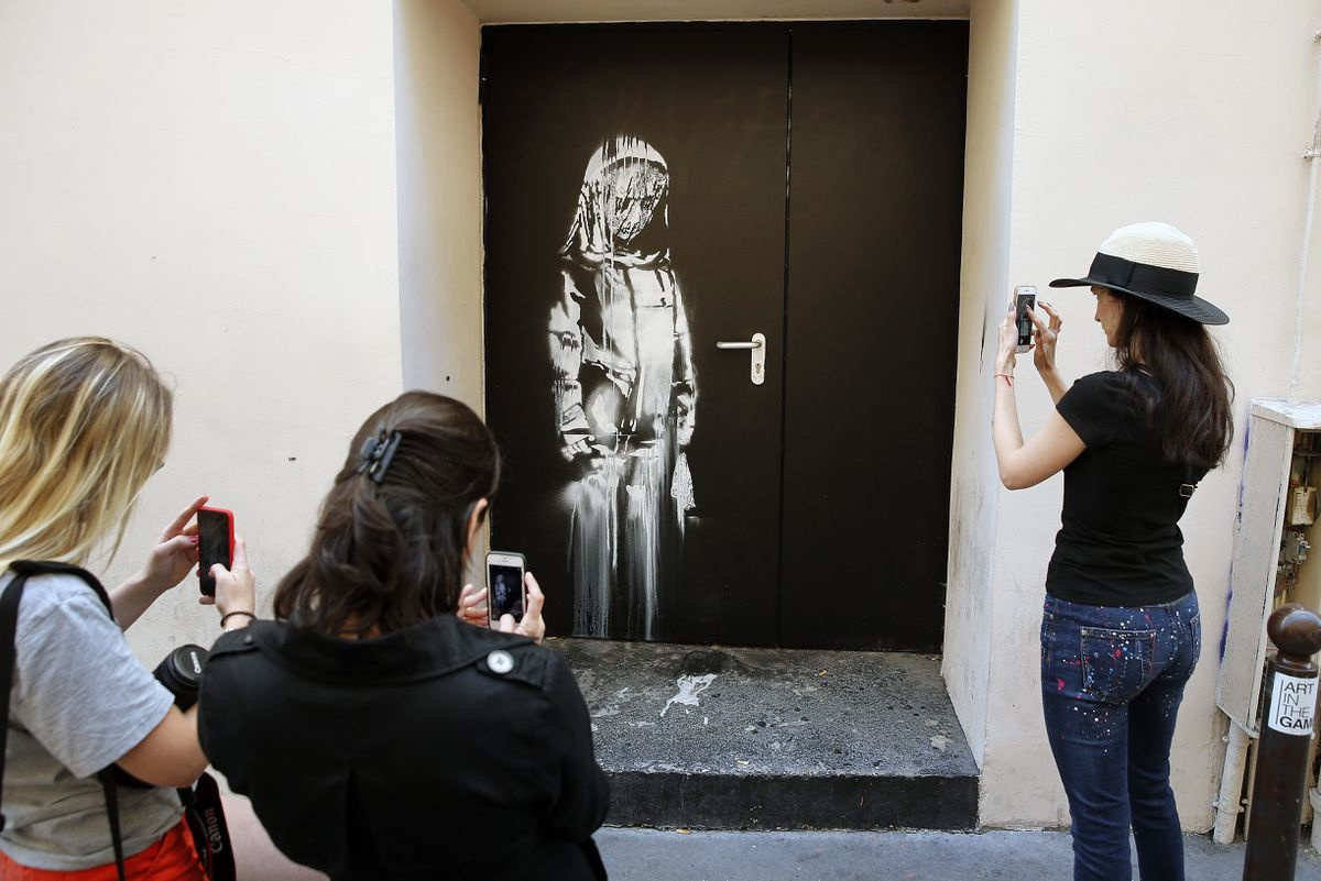 Incident in ParisPicture of Banksy was stolen from the Bataclan
