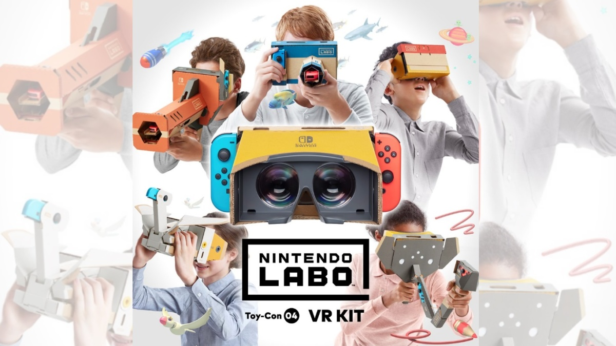 Cardboard reality in the big gameNintendo Switch will get VR support, but that's not what you think