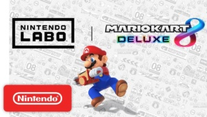 Promotional art collaborations Nintendo Land and Mario Kart 8: Deluxe