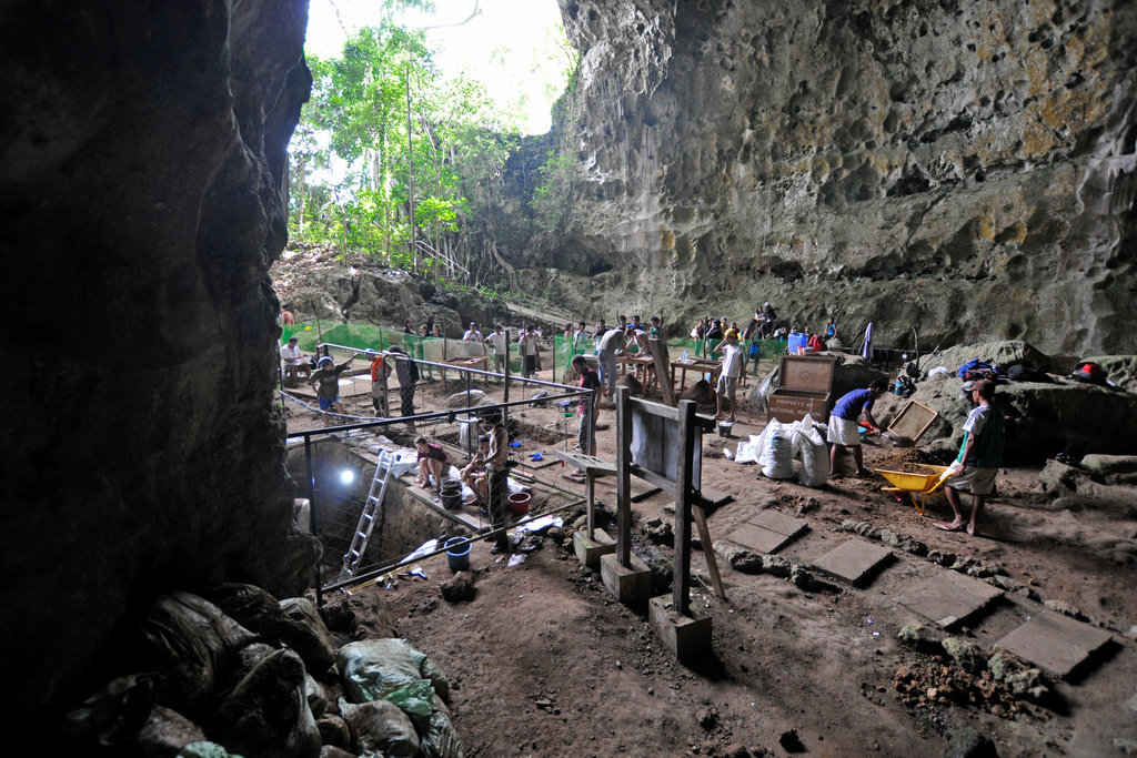 There were more of us than we thought!A new species of human was discovered in the Philippine cave