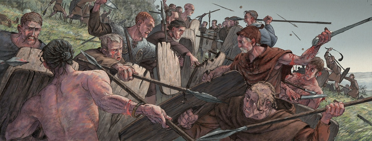 British scientists shocked!It turned out that the ancient Celtic warriors fought with willow bark shields