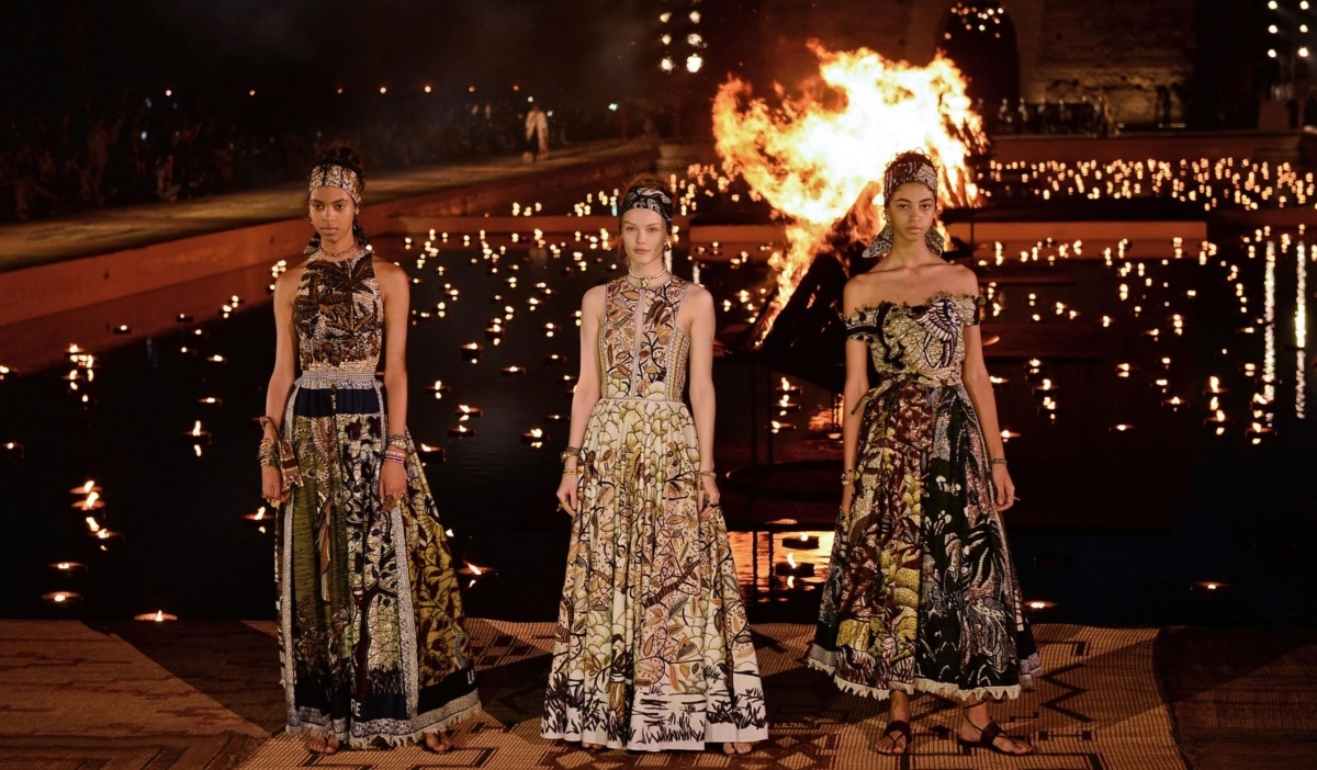 Around the World with Dior: cruise shows from French Fashion HouseA resort show of the brand took place in Marrakech on April 29