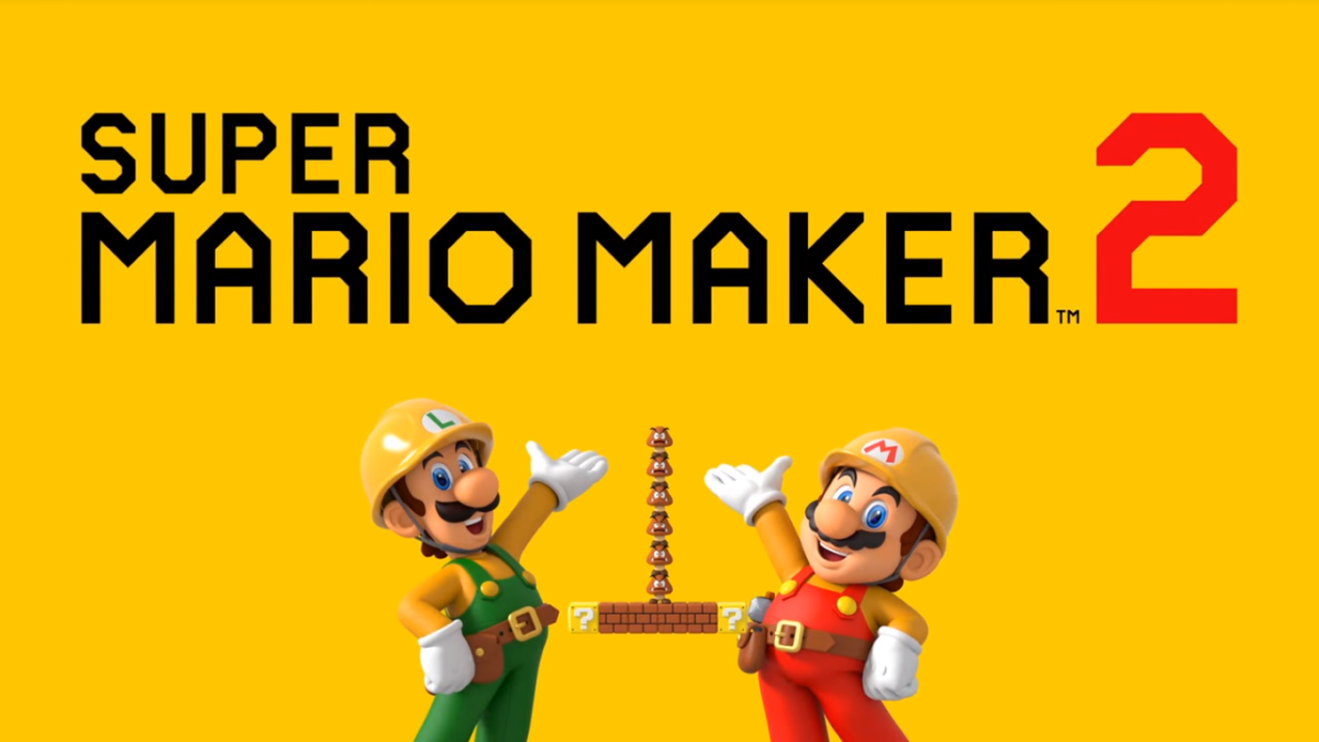 Homemade Mario 2What was shown at the presentation of Super Mario Maker 2