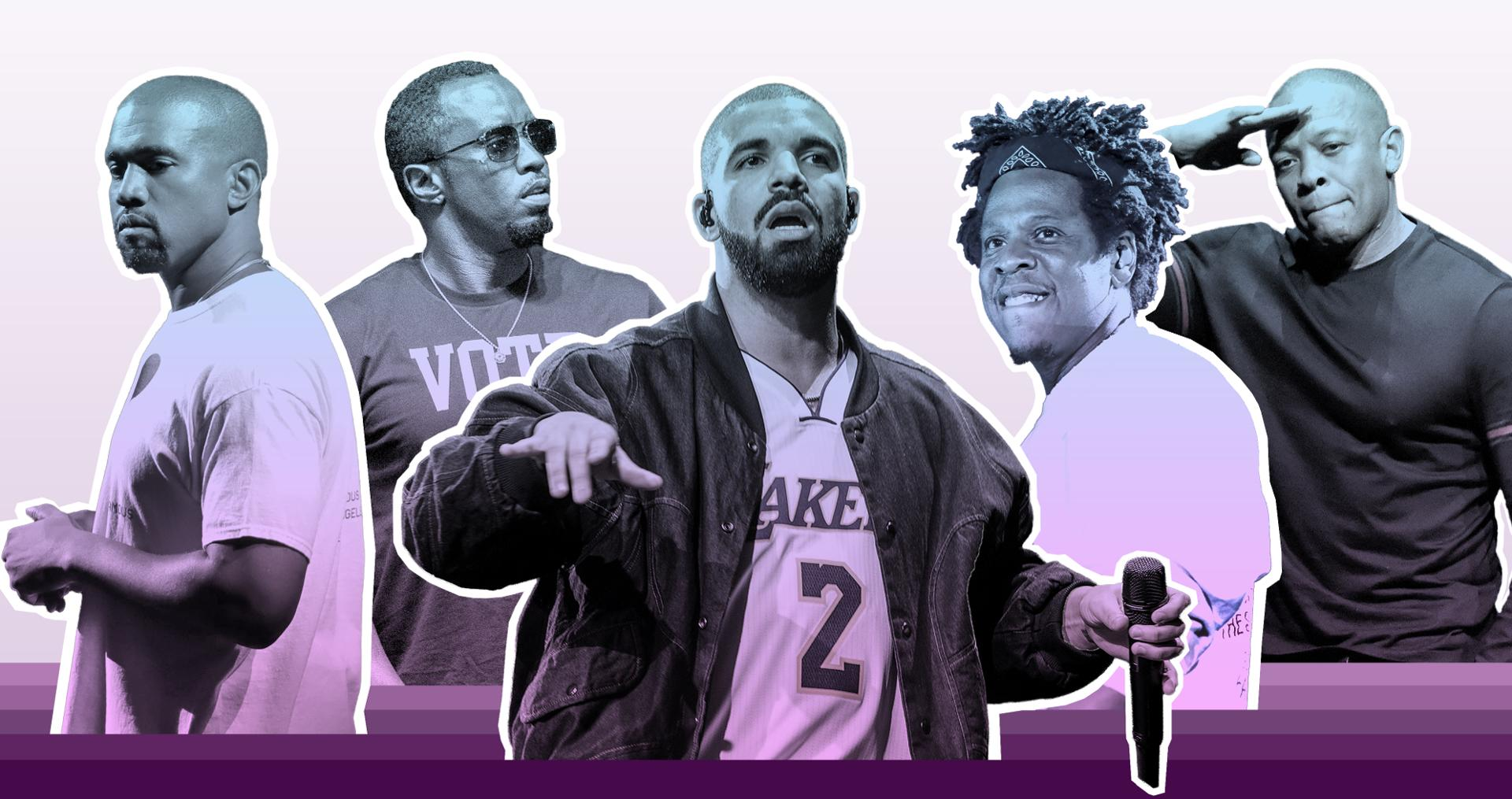 <h1>From Jay-Z to Drake: Richest Rappers</h1><h2>The Forbes rating is headed by the first billionaire in hip-hop culture — Jay-Z</h2>