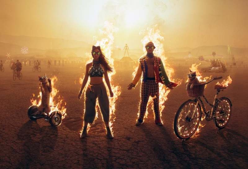 "Фестиваль ""Burning Man"", США. Фотограф: Jim Lind"