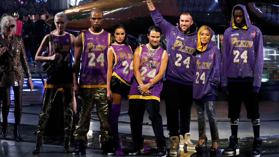 Philipp Plein is in the middle of a scandalThe designer dedicated his latest show to Kobe Bryant