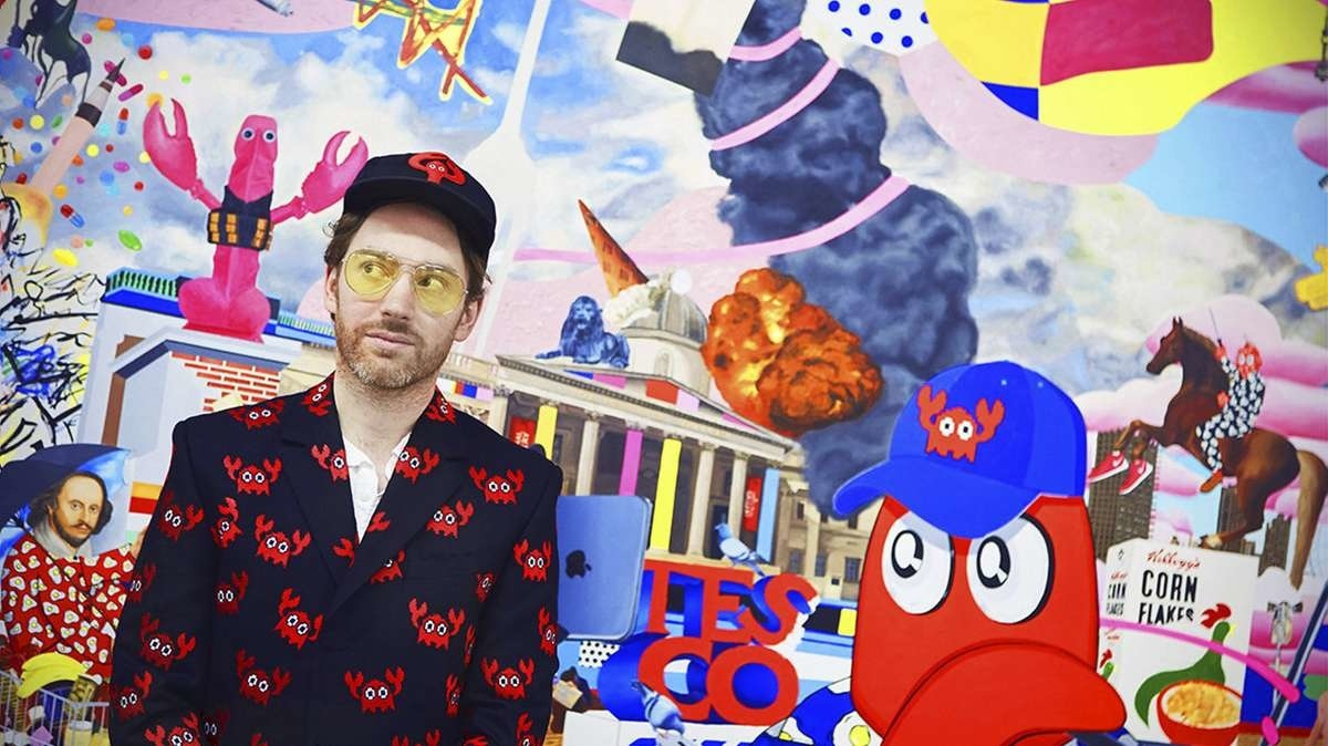 Lobster's adventuresOn the merger of the real and virtual worlds in the works of Philip Colbert