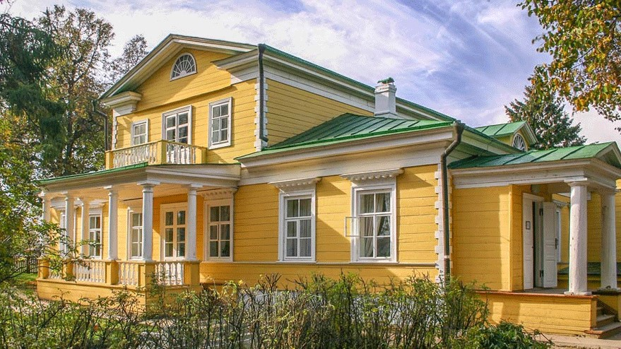 Master's house in Bolsino, family Pushkin's estate