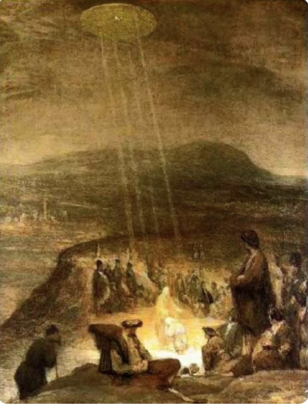 """Baptism of Christ"" Aert De Gelder (1645-1727)"