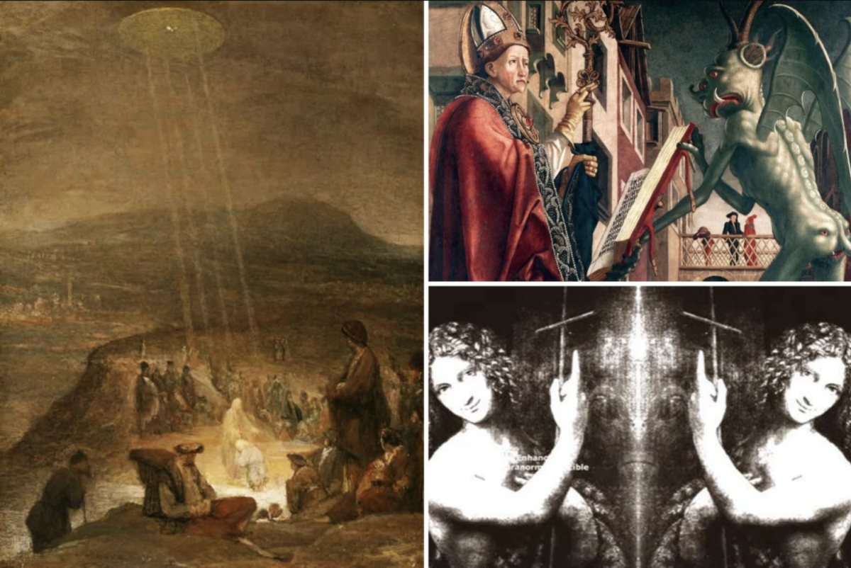 "Angels and ""demons"": did aliens really contact saints?Depictions of UFOs in Christian churches and pictures since the 11th century"