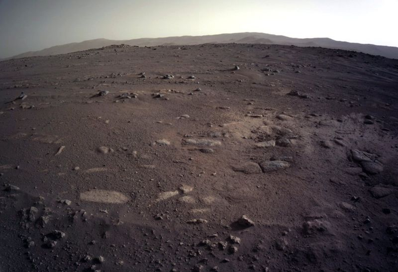 A picture of the surface of Mars (source: NASA)